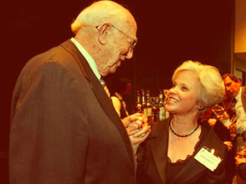 Nancy Osbourne meeting Bill Gates Sr.